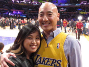 The LA Lakers Courtside Experience